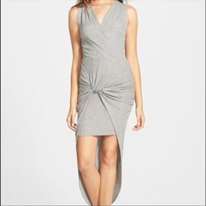 Leith front know hi-lo dress